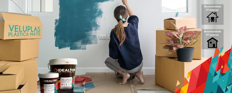5 dicas indispensáveis para pintar a casa e manutenção da pintura, com Veluplas!